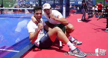 Galán y Lebrón, Maestros y tricampeones con todos los honores - Padel Spain