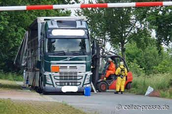 Entwarnung nach Gefahrguteinsatz der Feuerwehr in Lachendorf – keine austretenden Chemikalien entdeckt - Celler Presse