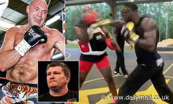 Ricky Hatton warns Tyson Fury that Deontay Wilder has been throwing 'murderous punches' in training