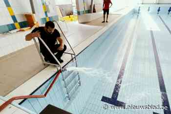 520.000 liter water in het zwembad, Nijlenaars mogen gratis zwemmen bij heropening