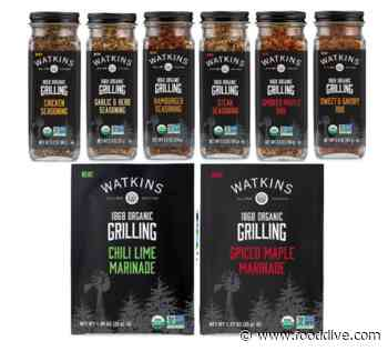 New Watkins 1868 Organic Grilling Products Spice Up Grilling Season - Food Dive