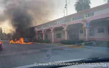 Fotogalería: Ciudadanos queman presidencia seccional en Lázaro Cárdenas - El Heraldo de Chihuahua