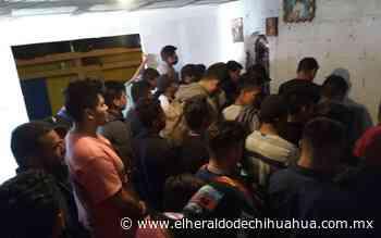 Rescatan en Juárez a 249 migrantes secuestrados - El Heraldo de Chihuahua