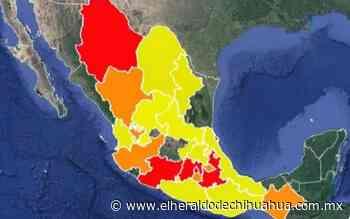 Azotan once incendios forestales al estado de Chihuahua - El Heraldo de Chihuahua