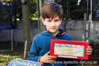 Siebenjähriger aus Gottenheim gewinnt Jung-Forscherpreis - Gottenheim - Badische Zeitung - Badische Zeitung
