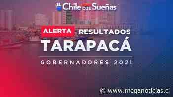 Segunda vuelta gobernadores: Resultados minuto a minuto de la región de Tarapacá - Meganoticias