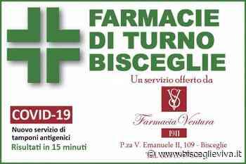 Farmacie di turno a Bisceglie dal 14 al 20 giugno - BisceglieViva