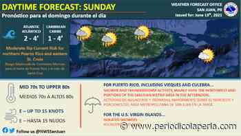 Se esperan aguaceros y tronadas para el noroeste de Puerto Rico - La Perla del Sur