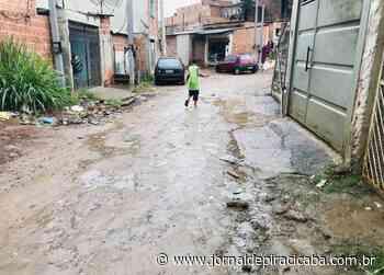 Moradores relatam problemas com obra inacabada - jornaldepiracicaba.com.br