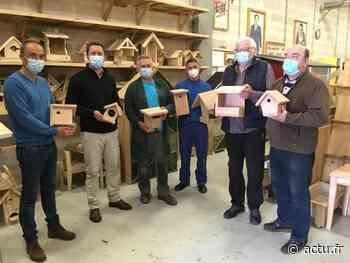 À Dieppe, l'Atelier du cœur reçoit des dons de bois pour construire nichoirs et mangeoires - Les Informations Dieppoises