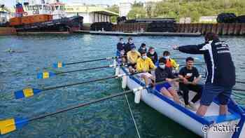 """""""Row !"""" : au club nautique de Dieppe, on apprend l'anglais en ramant - Les Informations Dieppoises"""