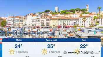 Météo Cannes: Prévisions du dimanche 13 juin 2021 - 20minutes.fr