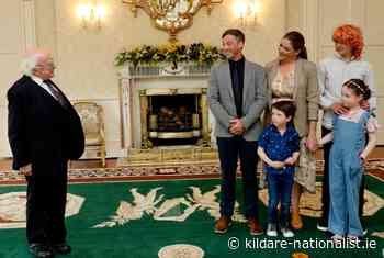Maynooth professor presents his book to President - Kildare Nationalist