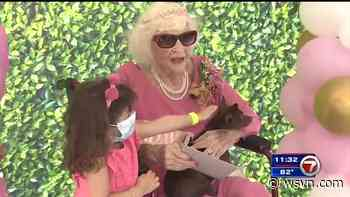 North Bay Village throws 100th birthday party for oldest resident - WSVN 7News | Miami News, Weather, Sports | Fort Lauderdale