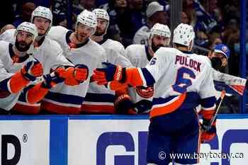 Semyon Varlamov, Islanders beat Lightning 2-1 in Game 1 - BayToday