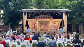 Bühnen in Karlsruhe, Bruchsal, Baden-Baden und Pforzheim spielen vor Publikum - SWR
