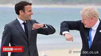 G7: Macron responds to criticism over 'offensive' NI comments