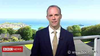Dominic Raab: EU figures' attitude to Northern Ireland 'offensive'