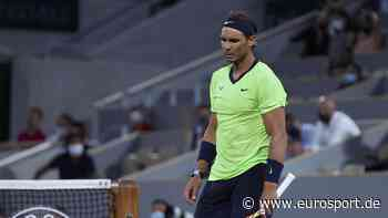 French Open - Rafael Nadal hat laut Guy Forget bei Aus gegen Novak Djokovic Verletzung verschwiegen - Eurosport DE