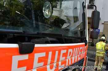 Auf der B27 bei Leinfelden-Echterdingen: PKW brennt komplett aus - esslinger-zeitung.de