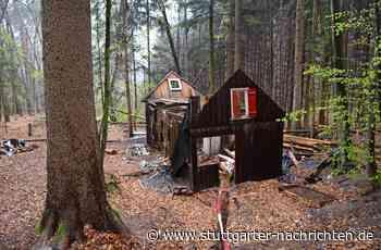 Rätselhafte Bauten in Leinfelden-Echterdingen - Geisterhütten im Wald gelten als Gefahrenquelle - Stuttgarter Nachrichten