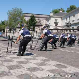 Terrassen dicht en winkelen onder politietoezicht: bezoek Biden zorgt voor hoogspanning in Brussel