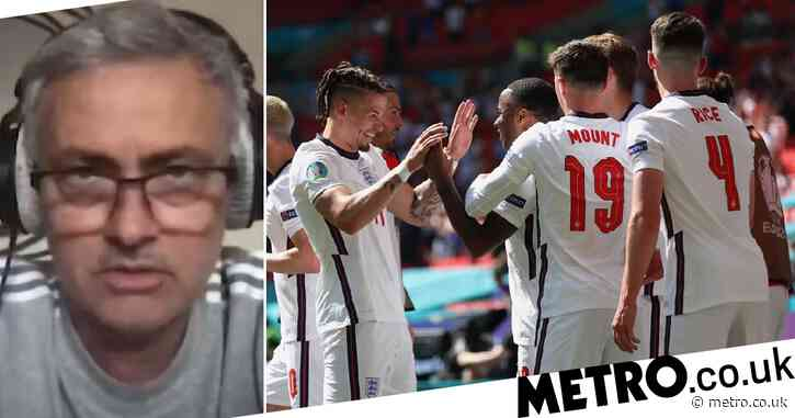 Jose Mourinho names Kalvin Phillips as England's 'standout' player in Croatia win at Euro 2020