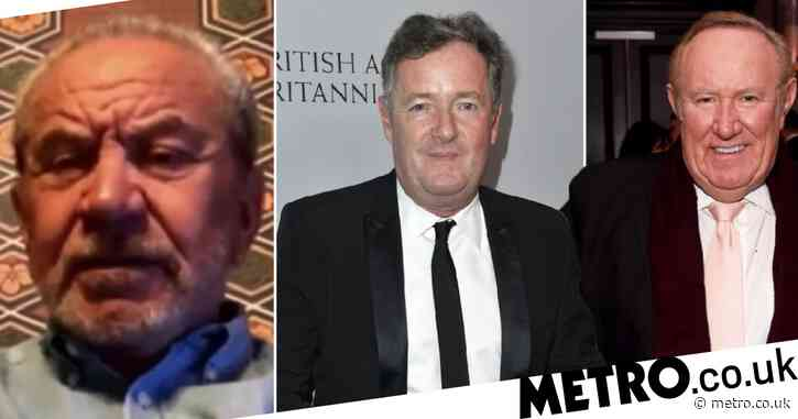Andrew Neil's swipe at Piers Morgan as he recruits 'enemy' Lord Sugar for GB News launch