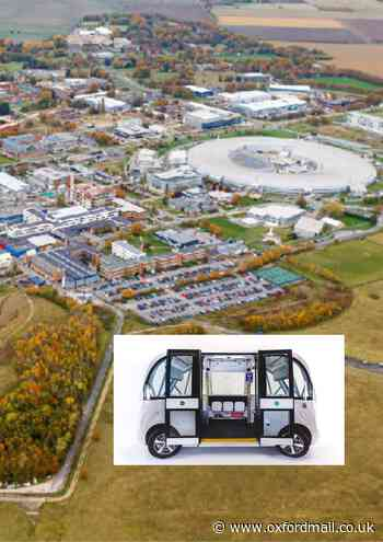 Driverless shuttle bus to transport passengers at Harwell Campus