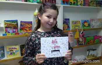 Día del Escritor en General Pico: La pequeña Ada Azul Portillo habló de su pasión por la escritura - InfoPico.com