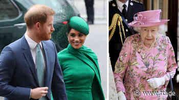 Wegen Harry & Meghan: Wie die Queen jetzt mit dem Hof-Protokoll bricht! - RTL Online