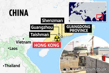 'Imminent danger' as Chinese power plant 'LEAKING RADIATION but Beijing is trying to cover it up'... - The Sun