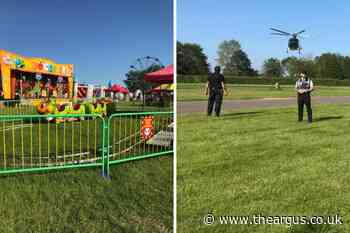 Boy seriously injured by ride at South of England show