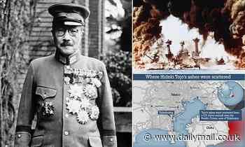 US mission to scatter Hideki Tojo's ashes at sea is revealed 73 years after he was hanged