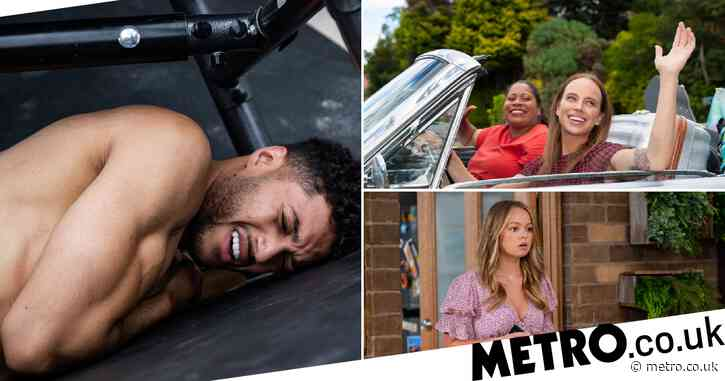 Neighbours spoilers: Levi's breakup leads to hot hook up and nasty injury