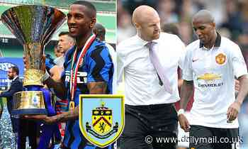 Burnley offer Ashley Young a one year deal with the Inter Milan defender out of contract this summer