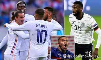 Euro 2020: Antonio Rudiger urges Germany to be 'disgusting' against France's fowards