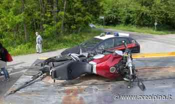 Moto contro furgone: un ferito grave - La Prealpina