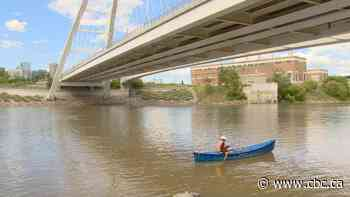 Alberta man canoeing down North Saskatchewan River to raise funds, awareness for SIDS - CBC.ca