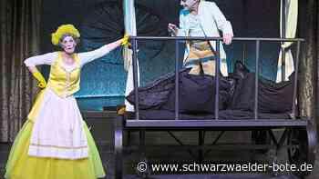 Burladingen - Endlich! Theater und Kleinkunst vor echten Zuschauern - Schwarzwälder Bote