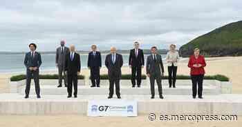 Los líderes del G-7 se reúnen en Inglaterra, con la esperanza de un futuro más verde y próspero - MercoPress