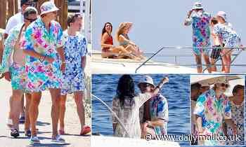 PICTURE EXCLUSIVE: Erling Haaland parties on a yacht in Mykonos in £2,250 Louis Vuitton outfit