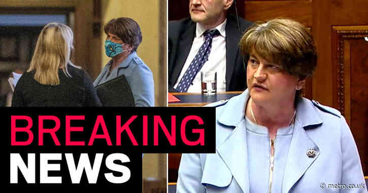 Arlene Foster resigns as Northern Ireland's first minister