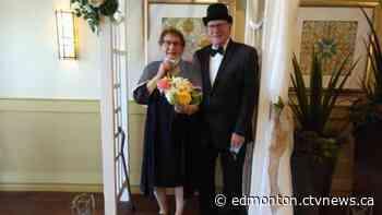 Couples say 'I do' at St. Albert retirement home - CTV News Edmonton
