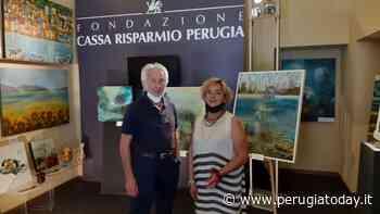 Fondazione Cassa di Risparmio, inaugurata la mostra della pittrice corcianese Stefania Natalicchi. Un mix di stili e suggestioni - PerugiaToday