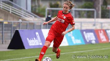 1. FC Köln: Klub holt Fußballerin Myrthe Moorrees vom SC Sand - t-online.de