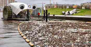 Mr. Trash Wheel is gobbling up millions of pounds of trash     - CNET