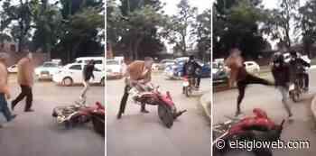 TUCUMAN: Un juez de Familia ataco a un motociclista y le destrozo la moto - El Siglo de Tucumán