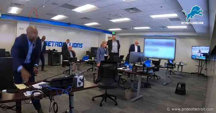 Top 8 moments from the Detroit Lions' behind-the-scenes draft video