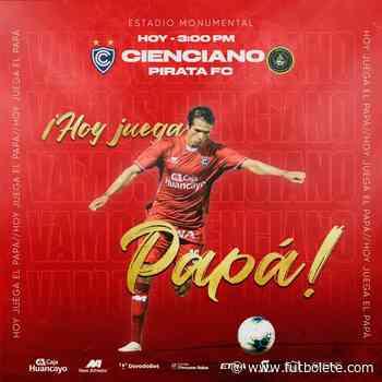 Ver en vivo Pirata vs Cienciano por la primera ronda de la Copa Bicentenario de Perú - Futbolete